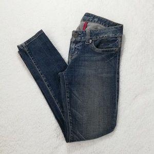 Guess Daredevil Skinny Stretch Distressed Jeans
